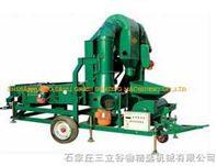 种子清选机械带小麦脱壳机
