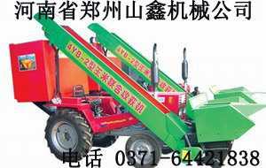 悬挂式玉米收割机