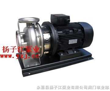 离心泵:ZS型不锈钢卧式单级离心泵
