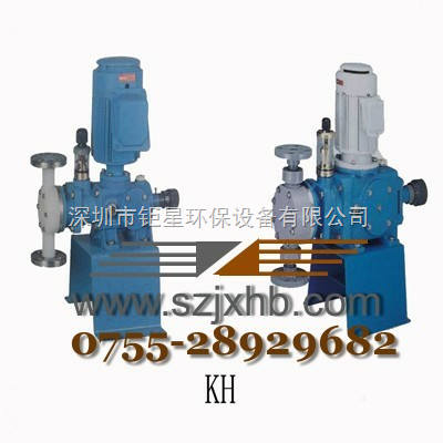千世计量泵AX系列计量泵代理柱塞计量泵加药泵
