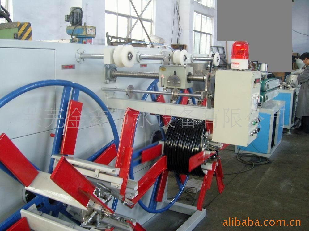 生产线之内镶式滴灌管生产线,滴灌管壁厚0.6mm-莱芜金鑫节水设备有限公司