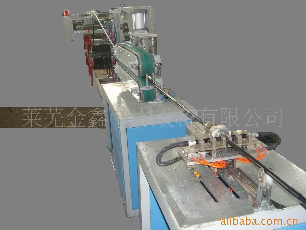 塑料管材生产线之内镶式滴灌管生产线,生产线中心高1米-莱芜金鑫节水设备有限公司
